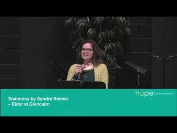 Hope for Mental Health | Sandra's Story
